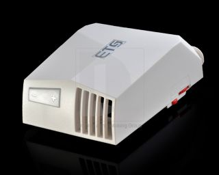 Latest White ETS Exhaust Type Notebook Laptop Air Cooler Radiator Cooling Fan