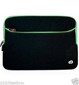 Google Chromebook Pixel Laptop Sleeve Bag Case Pouch Sleeve Green