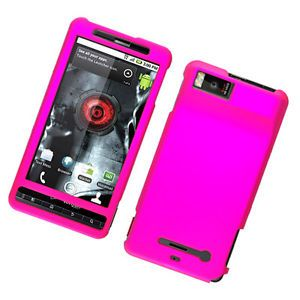 Motorola Droid X2 Hot Pink Hard Cover Phone Case
