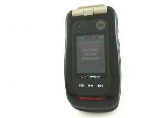 Motorola Barrage V860 Verizon Flip Rugged Work Phone Camera