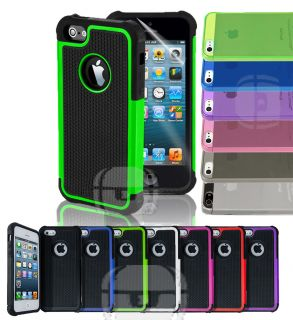 Armor Heavy Shock Proof or Clear Transparent Hard Cover Case for iPhone 5 5g