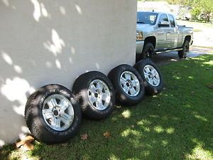 "2013 Chevy Silverado Suburban Tahoe Avalanche 18"" Z71 Tires Wheels with Sensors"