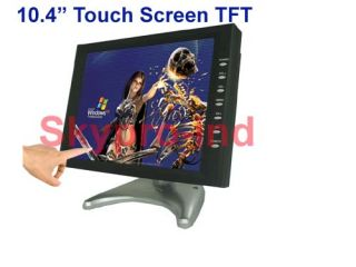 "10 4"" TFT LCD Touch Screen Monitor for Car PC POS T5"
