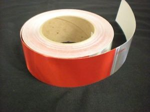 150' Roll Dot Conspicuity Reflective Safety Marking Tape Truck Semi Trailer