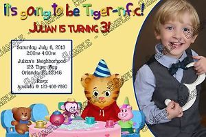 Daniel Tiger's Neighborhood Birthday Party Invitation Printable