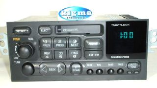 Chevy Cavalier Monte Carlo 96 99 Malibu 97 00 Cassette Player UL0 Tested 1182CG