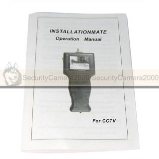 Handhold 2 5 Mini TFT LCD Monitor CCTV Security Testing