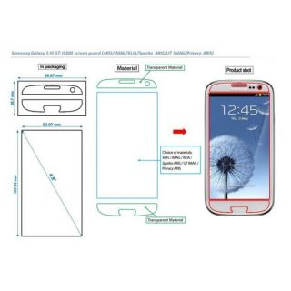 Capdase UT Imag Anti Fingerprint Screen Protector Samsung Galaxy S3 SIII I9300