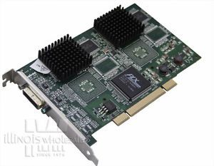 Matrox G450 Graphics Card 64MB PCI Video Card for HP RP5000 G45X2DUAL B 0790750108483