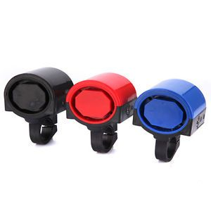 Electronic Bicycle Bike Cycle Alarm Loud Warning Bell Siren Horn 2X AAA Battery