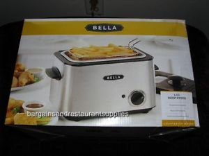 Bella Electric Deep Fryer 1 2L Stainless Steel Countertop Appliance New