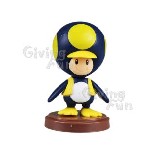 Genuine Furuta 2012 Super Mario Bros Penguin Toad Action Figure Toy Wii Vol 3