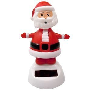 Solar Power Motion Toy Santa Claus