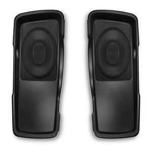 Saddlebag Speaker Lids for Harley Davidson Road Street Glide Complete Kit
