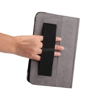 "High Quality PU Leather Case w Hand Strap 8 1"" Acer Iconia Tab W3 810 Film F73Z"