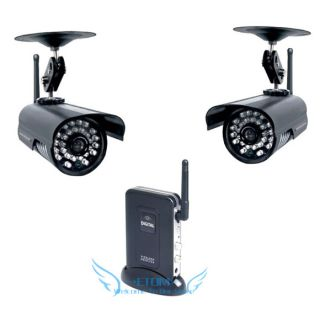 Waterproof 4CH Digital Wireless CCTV Security Surveillance IR Camera System DVR