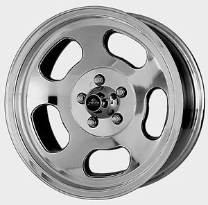 American Racing Ansen Sprint Slotted VNA69 Polished Wheels 5 Lug Ford Chevy