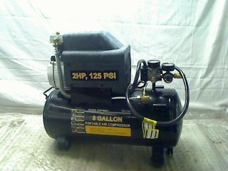 2 HP 8 Gallon 125 PSI Portable Air Compressor TADD