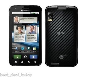 Motorola Atrix MB860 4G 16GB Black Unlocked N Smartphone Cell Phone at T