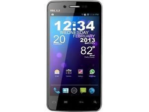 Blu Quattro 4 5 D440 Black Unlocked Cell Phone