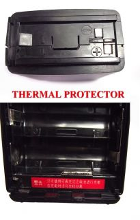 Universal Rechargeable AA10 Battery Case Standard CBT 252 with Thermal Protector
