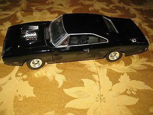 Ertl Universal Studios Fast and Furious 1970 Black Dodge Charger