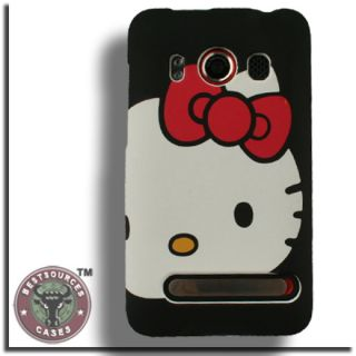 Case for HTC EVO 4G Hello Kitty Cover Skin Faceplate