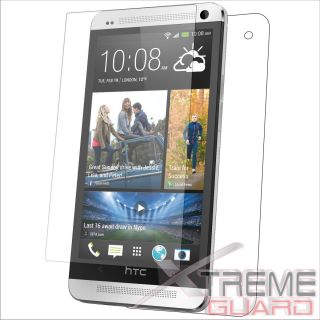 XtremeGuard Clear Full Body Screen Protector Skin Cover Guard for HTC One