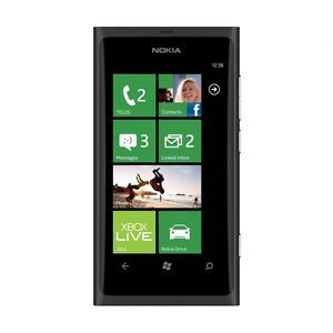 New Nokia Lumia 800 Unlocked GSM Phone Windows 7 5 OS 8MP Camera Carl Zeiss WiFi