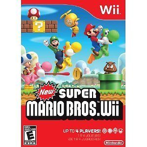 New Super Mario Bros Wii 2009 English Game NTSC 045496331191