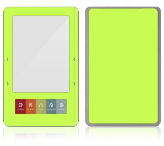 CP11 Barnes Noble Nook Color Touch Decal Skin Sticker Cover Simply Lime