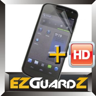 6X EZ HD Samsung Galaxy Nexus Prime Clear LCD Screen Protector Cover Skin Guard