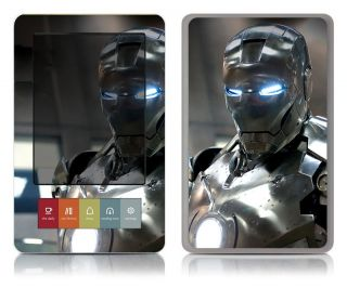 Bundle Monster Barnes Noble Nook Vinyl Art Decal Accessory Iron Man