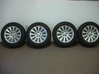 2013 Chrysler 300 17 inch Alloy Wheels and P215 65R17 Michelin Tires OE Mopar