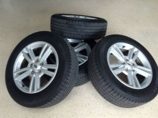 "Mustang 2012 Factory 17"" Alloy Wheels w TPMS Sensors Michelin Tires Austin"