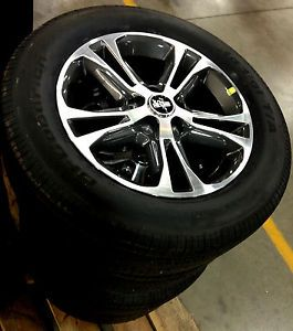 "2005 2013 Mustang 2 Tone 17"" Wheel Tire Set of 4 Michelin Tires New"