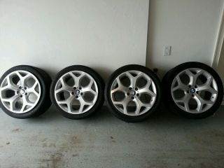 "BMW ""x5"" 2007 Set of 4 Alloy 20"" Wheels w Michelin Tires Y Spoke Style"