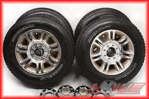 "2012 20"" Ford F250 F350 Suderduty King Ranch FX4 Wheels Michelin Tires 17 18"