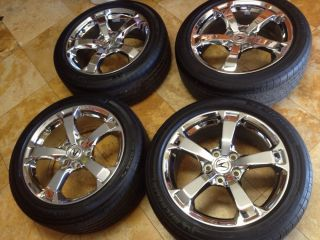 "Acura TL 18"" Factory Wheels Michelin Tires Excelkent Condition"