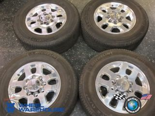 11 13 Chevy HD 2500 HD2500 3500 Factory 18 Wheels Tires Rims 8x180 5502