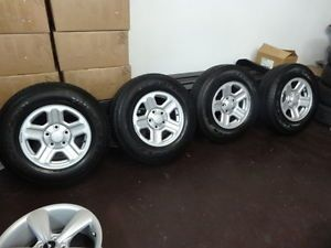 Set of 4 Jeep Wrangler 16 inch Factory Wheels Rims with Goodyear Tires