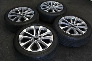 2013 Honda Accord Sport Wheels by Enkei and Factory 235 45 18 Goodyear Tires