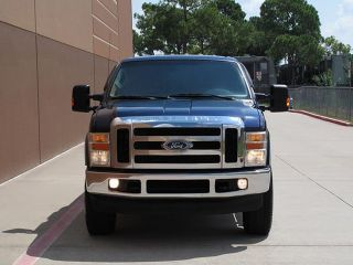08 Ford F250 Lariat Crew Cab Short Bed 6 4L Diesel 4x4 1OWNER