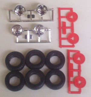 Goodyear Tires Dually Wheels Only Chevy Wrecker Revell 1 25 Truck Model Parts