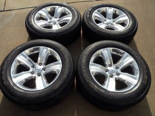 "20"" Factory Dodge RAM Wheels 1500 Goodyear Tires 2013 2014 Polished"
