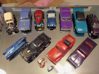 Built 1 24 Scale Model Cars Hot Rods Classic Muscle Vintage