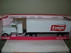 New Nylint 18 Wheeler Trailer Semi Truck 345Z Emge Meats Goodyear Tires