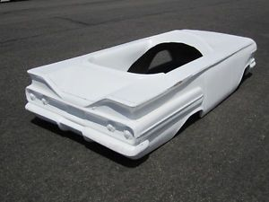 1960 Chevy Impala Pedal Car Hot Rod Stroller 1 4 Scale Fiberglass Body 1959