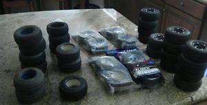 34 s C Truck Tires Wheels 1 10 4x4 2x4 and s C Blitz Body SC10 Traxxas Slash