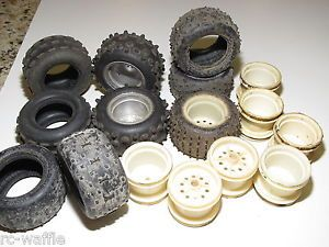 Jr 0711 Vintage 1 10 Truck Tires and Wheels